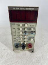 Vintage Tektronix Dm 501a Digital Multimeter Plug In