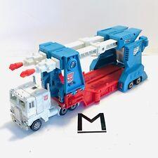 Transformers G1 Ultra Magnus 100% Complete 1986 Original Plastic KB Variant