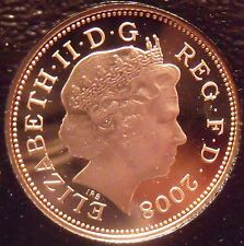 Rare Gem Cameo Great Britain 2008 Penny~The Badge Of King Henry VII~Free Ship