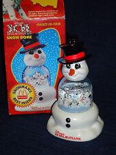 Disney McDonald's 101 DALMATIANS Snow Dome w/Box Snowman's Best Friend