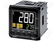 Temperature controller univ. input, 3x relay Omron E5CC controlador temperatura