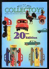 COLLECTOYS  20 eme  vente de jouets anciens     17 mars 2001