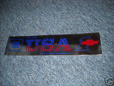 CHEVROLET SEE THE USA IN YOUR CHEVROLET BUMPER STICKER