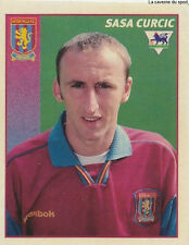 N°044 SASA CURCIC ASTON VILLA.FC STICKER MERLIN PREMIER LEAGUE 1997