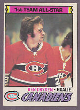 1977-78 O-Pee-Chee OPC Hockey Ken Dryden #100 Montreal Canadiens NM/MT