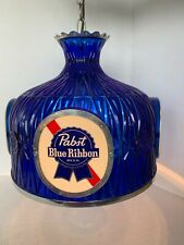 Vintage Pabst Blue Ribbon Chandelier By George Banta Company (97)