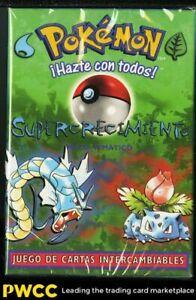 1999 Pokemon Base Set Spanish Factory Sealed Overgrowth Theme Deck