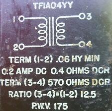 Saratoga Filter Reactor 0.6 Hy @ 0.2 A.D.C @ 0.4 Ohms + 570 Ohms