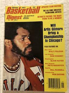1977 Basketball Digest CHICAGO BULLS Artis GILMORE Bring Championship? NO LABEL