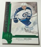 Nikolaj Ehlers #99 /99 made Artifacts Emerald Insert Parallel Hockey Card 68