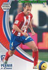 044 MARIANO PERNIA ESPANA ATLETICO TARJETA CARD MEGA CRACKS LIGA 2008 PANINI