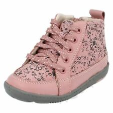 Clarks Suede Boots Wide Shoes for Girls