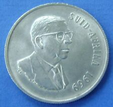 Zuid Afrika - South Africa 1 rand 1969 Silver Dr. T.E. Donges