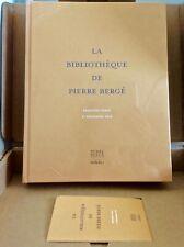 beau livre catalogue sotheby's la bibliotheque de pierre berge