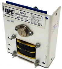 GFC HAMMOND GFOF 1-24 LINEAR POWER SUPPLY 105-125, 210-250VAC OUT: 24VDC, TESTED