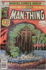 MAN-THING 1 VOL.2 MARVEL COMIC ORIGIN RETOLD FLEISHER MOONEY WIACEK 1979 NM