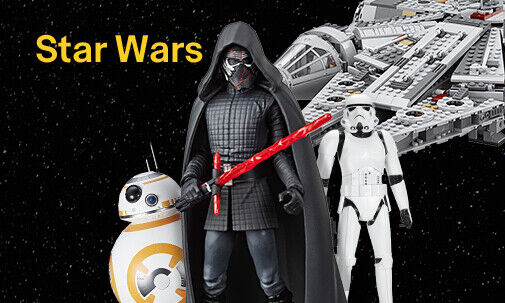 Toys, games & more from all Star Wars episodes