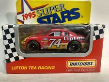 Matchbox Super Stars Johnny Benson #74 Lipton Tea Chevy 1:64 Scale Diecast mb921