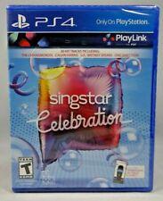 Singstar Celebration (Sony PlayStation 4, 2017) New sealed !