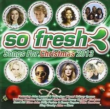 So Fresh Songs Of Christmas 2013 Various 2 CD Wham spice Girls Boney M Band Aid