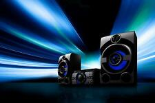 SONY !Black & Blue! MHC-M20 - High-Power Audio System - DJ  Karaokie Function!!