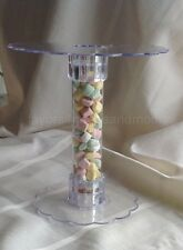 2 Tier Cake Cupcake Stand Wedding Party Reception Decoration With Tube Stopper