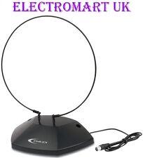 Portable intérieure analogique tv numériques freeview set top antenne