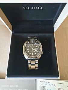 Seiko King Turtle SRPE03K1 diver watch Sapphire Ceramic mint condition