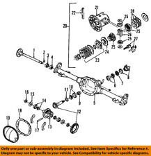 GM OEM Rear-Axle Seals 26029137