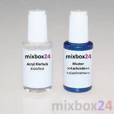 Stylo Retouche Peinture Pour Renault d47 bleu orage 20 ml + 20 ml couche transparente
