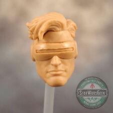 "ML220 Custom Sculpt Cast Cyclops Jim Lee head use w/6"" Marvel Legends"