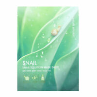 [NATURE REPUBLIC] Snail Solution Mask Sheet - 20g (3,5,10pcs)