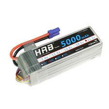 HRB 22.2V 6S 5000mAh LiPo Battery 50C 100C EC5 for Align Trex 800 700 Boat Car