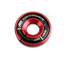 1Pcs Aluminum Alloy Red ABT Key To Auto Start The Circle The Ignition Key Ring