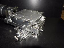 Parker Starrett X-Y Stage Precision Crossed Roller Micrometer