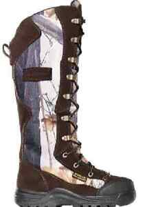 "Lacrosse 425600-1M 12"" Youth/Womens Venom Scent Camo Snake Boot Size 1 Med 13311"