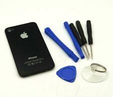 Original iPhone 4s Akkudeckel Rahmen Gehäuse Cover Frame Werkzeug Schwarz Black