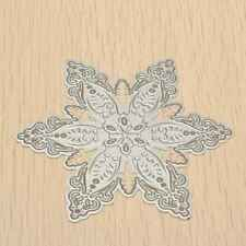 Snowflake Shaped Paper Cards Making Dies Nesting Papercraft Embossing Decoration
