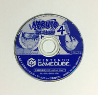 USED GC Naruto Gekitou Ninja Taisen 4 Game Disc JAPAN