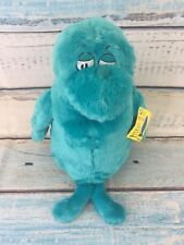 "Kohls Cares Dr Seuss Big Fish Plush Blue 12"" Soft Stuffed Animal One Fish Two"