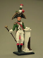 Painted Tin Toy Soldier Tambour Grenadier 54mm 1/32