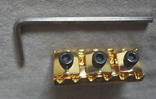 FLOYD ROSE Lic. LOCKING NUT MIGHTY MITE GOLD 43MM Top Mount 4 Electric Guitar