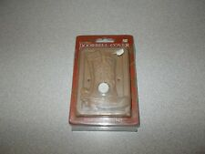 Figi Dc-St-120 western cowboy boots themed ceramic door bell button & cover new