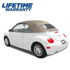 VW Volkswagen New Beetle 2003-2010 Convertible Top TAN Stayfast Power Top