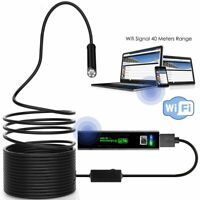 32ft Endoscope Inspection Camera Industrial Borescope Waterproof iPhone Android