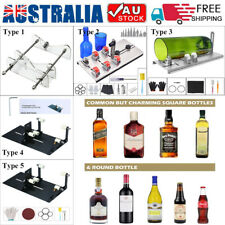 DIY Glass Bottle Cutter Tools Kit for Cutting Round Square Oval Bottles Cutter