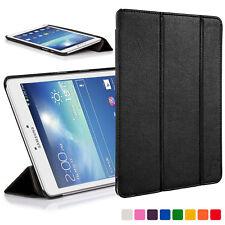 Vanguardia casos ® Samsung Galaxy Tab 3 8.0 Cuero Inteligente Funda Cubierta Soporte De Shell