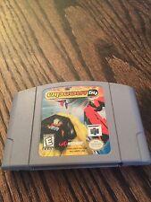 Wipeout 64 Nintendo 64 N64 Game Cart Tested Works NE5
