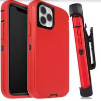 Apple IPhone 11 Pro Heavy Duty Case Anti-Drop Durable Protection Belt-Clip Black