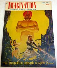Imagination – US digest – April 1953 - Vol.4 No.3 - Shaver, Phillips, Krepps